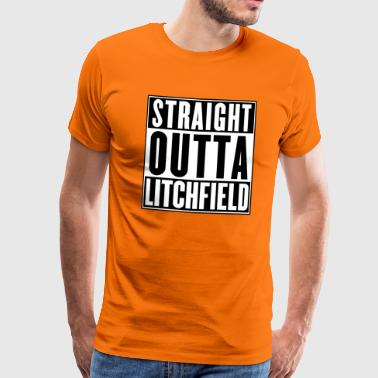Orange Is The New Black Straight Outta Litchfield Orange is the New Black - Men's Premium T-Shirt