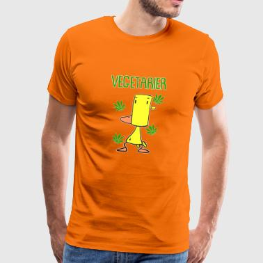 high duck vegetarier - Männer Premium T-Shirt
