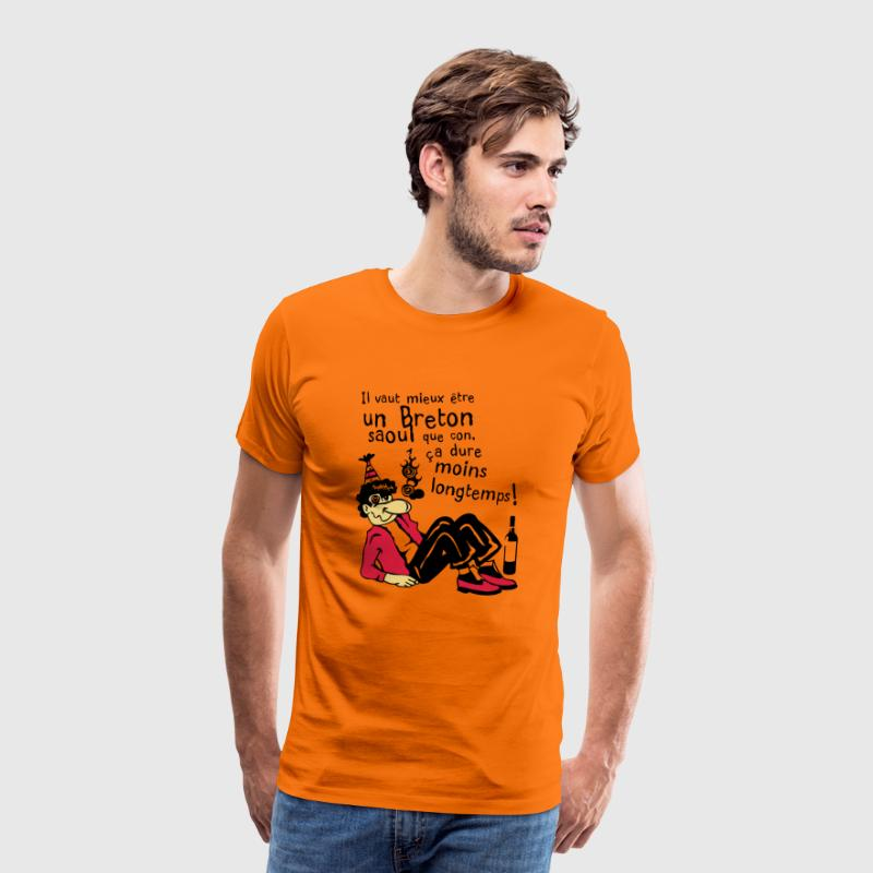 humour citation alcool breton torcher 1 - T-shirt Premium Homme