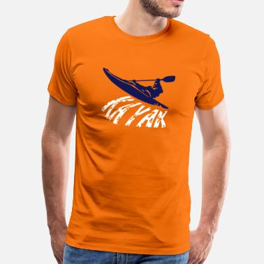 Kayak Sex kayak - Men's Premium T-Shirt