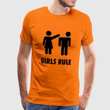 Girls Rule - Men's Premium T-Shirt