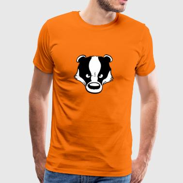 Angry Badger - Men's Premium T-Shirt