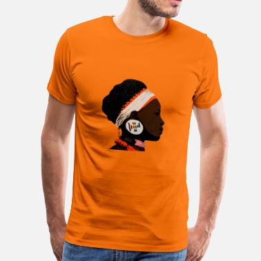 Zulu zulu girl 2 - Men's Premium T-Shirt