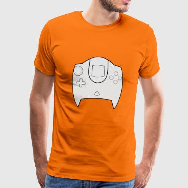 Dreamcast controller design - Men's Premium T-Shirt