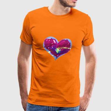 Hearts are trumps - Men's Premium T-Shirt