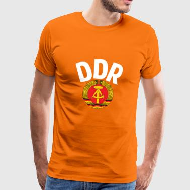 DDR - German Democratic Republic - Est Germany - Camiseta premium hombre