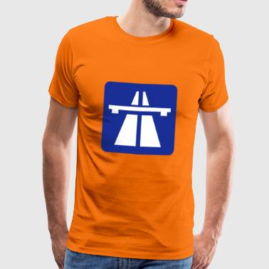 Autobahn - Men's Premium T-Shirt