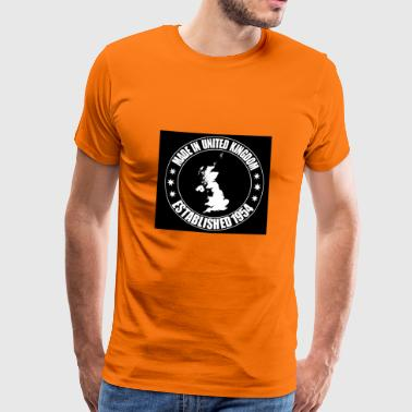 Uk UK - Mannen Premium T-shirt