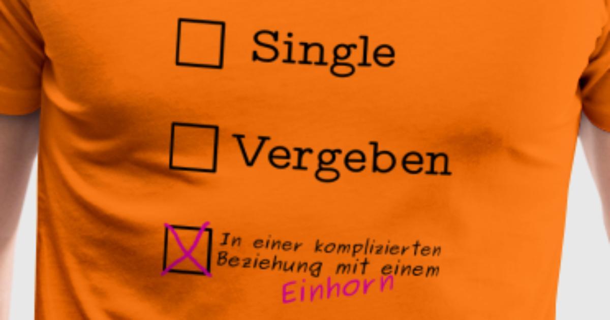 Einhorn Spruch Beziehung Status Kompliziert von NorisShirts ...