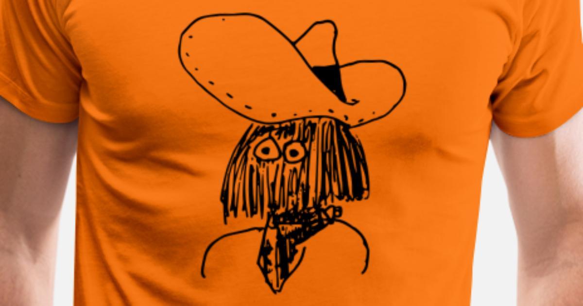 Vaquero ranchero wester caballo guardabosques sheriff camiseta premium  hombre spreadshirt jpg 1200x630 Caballo ropa de ranchero 10e2e6cfba7