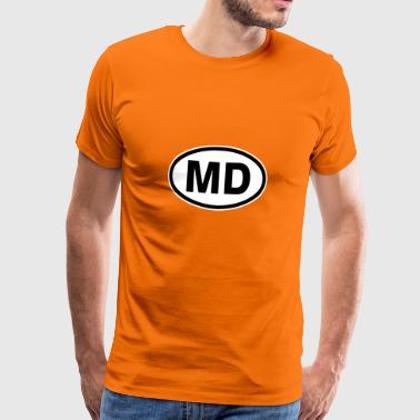 MD Moldavie - T-shirt Premium Homme