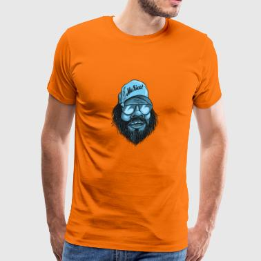 murica man beard - Men's Premium T-Shirt