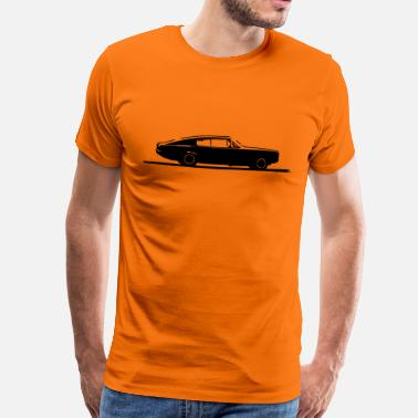 Plymouth Barracuda Charger - Men's Premium T-Shirt