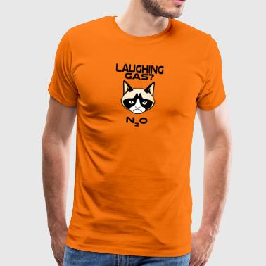 grumpy cat Laughing gas No - Men's Premium T-Shirt
