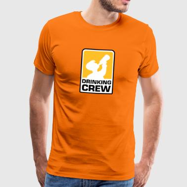 party logo drinking crew - Männer Premium T-Shirt
