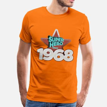 Established Super Hero since 1968 - Männer Premium T-Shirt