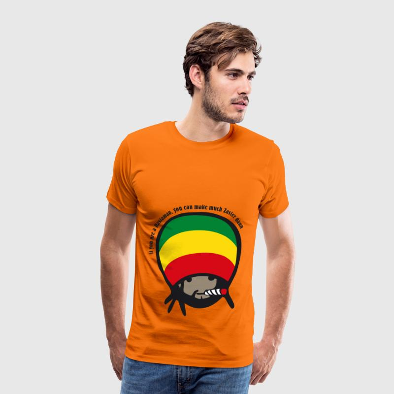 if you are a Rastaman - Men's Premium T-Shirt