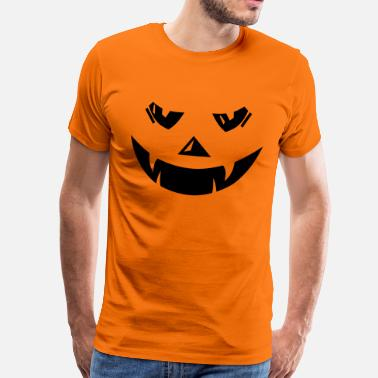 Pumpkin Halloween Pumpkin Pumpkin Head - Men's Premium T-Shirt