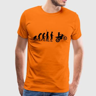 Moto Enduro Evolution Enduro - T-shirt Premium Homme