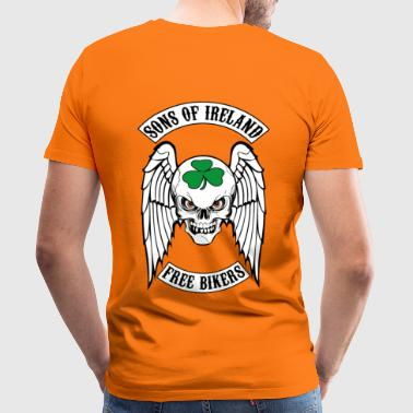 bikers - sons of ireland - T-shirt Premium Homme