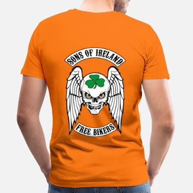 Bikers bikers - sons of ireland - T-shirt Premium Homme