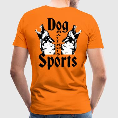 Malinois, mail, dog sports, dog , police dog - Men's Premium T-Shirt