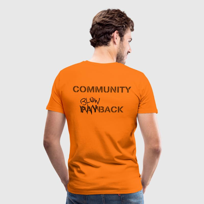 Community Blowback - Men's Premium T-Shirt