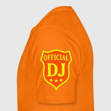 Official DJ disc jockey discjockey dj - Mannen Premium T-shirt