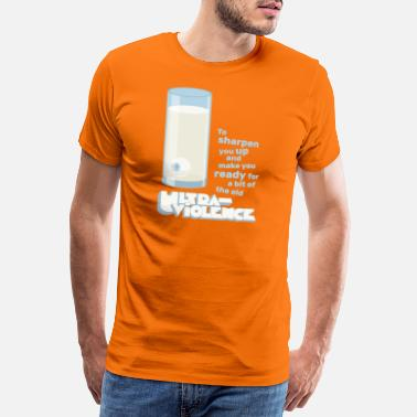 Orange Moloko Plus milk - Ultraviolence - Premium T-shirt mænd