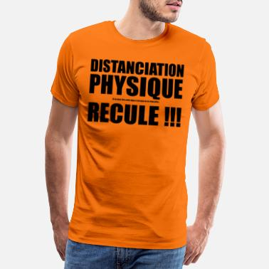Borderline Distanciation Physique Black Edition - T-shirt premium Homme
