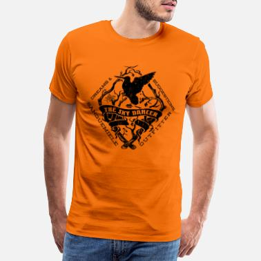 Woodcock sky dancer dark - Men's Premium T-Shirt