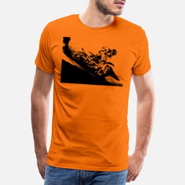 Dirt Bike Motocross dirt bike - Camiseta premium hombre