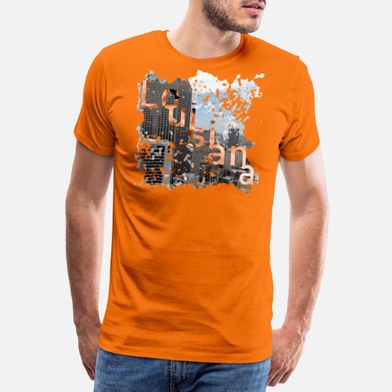 juste prix Quantité limitée acheter bien Chemise américaine Louisiane T-shirt premium Homme | Spreadshirt