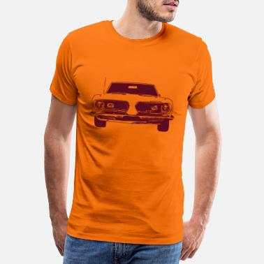 Plymouth Barracuda - Premium T-shirt herr