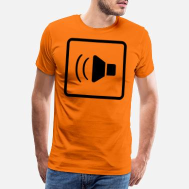 Stop Sign music speaker - Men's Premium T-Shirt