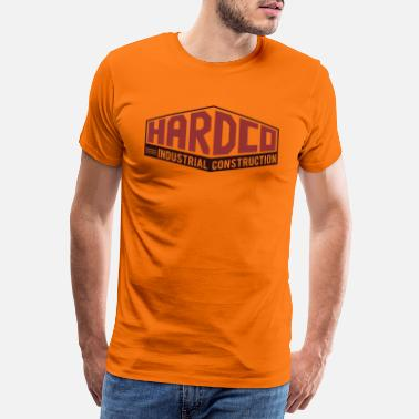 Amulet HARDCO Industrial Construction New Red Red - Men's Premium T-Shirt