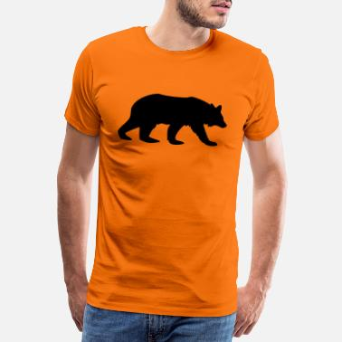 Camel bear animal - Men's Premium T-Shirt