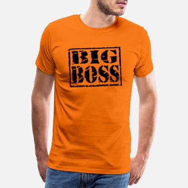 Im A Boss Big Boss - Men's Premium T-Shirt