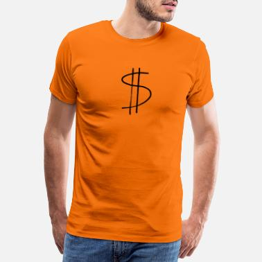 Dollar Sign dollar sign - Men's Premium T-Shirt