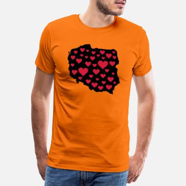 Poland polen_love_02 - Men's Premium T-Shirt