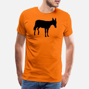 Donkey donkey animal - Men's Premium T-Shirt
