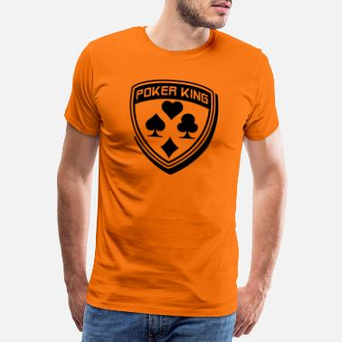 Ace Of Spades poker_logo_1_f1 - Men's Premium T-Shirt