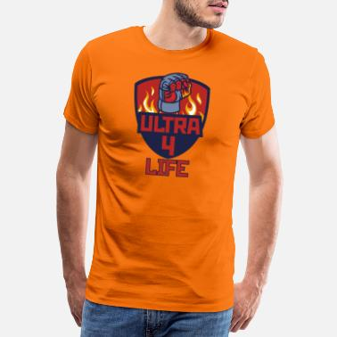 Rowdy Ultra 4 Life - T-shirt premium Homme