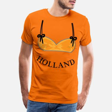 Bikini Dutch Lioness Orange - T-shirt premium Homme