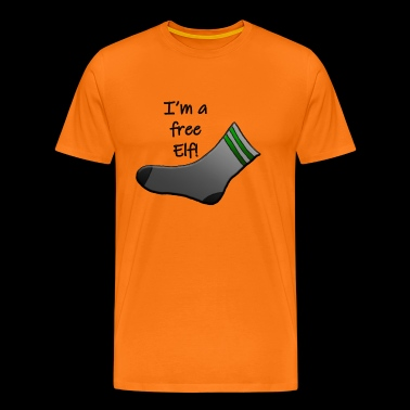 I'm a free elf! - Men's Premium T-Shirt