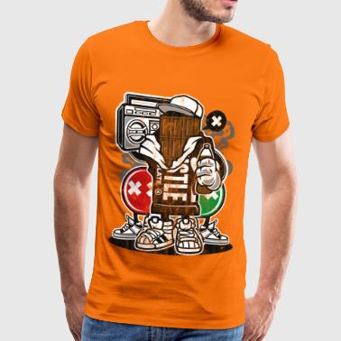 CHOCOLATE MAN - Funny cartoon cartoon gift - Men's Premium T-Shirt