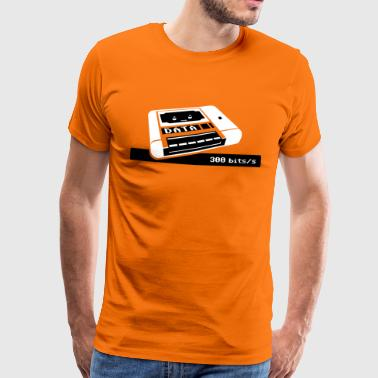 C64 Datasette Love - Men's Premium T-Shirt