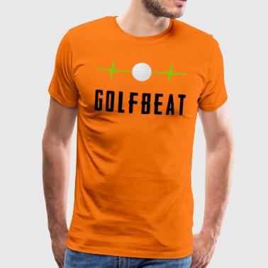 Golf beat - Herre premium T-shirt