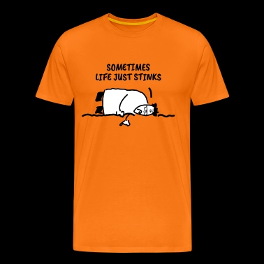 De Depressief Scientist - Mannen Premium T-shirt