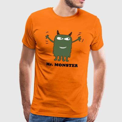 Mr Monster - T-shirt Premium Homme